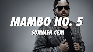 SUMMER CEM   Mambo No. 5 (Lyrics)