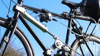Air Powered Bike