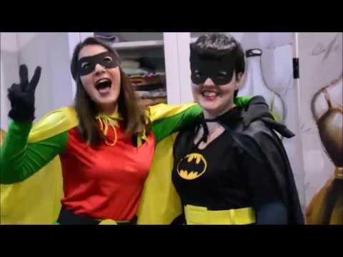 Disfraz de Batman y Robin + DIY Complementos