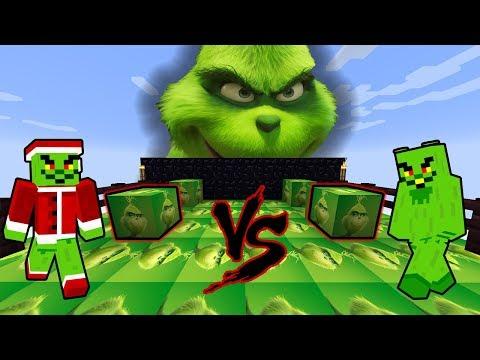 KTERÝ GRINCH UKRADNE CELÉ VÁNOCE ??!!! - Minecraft Lucky Block Race w/ Vendali