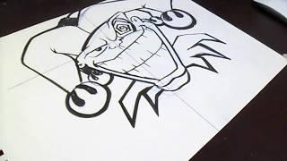 Wie Zu Zeichnen Jason Mask Graffiti самые лучшие видео
