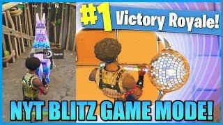 VINDER I DET NYE BLITZ GAME MODE! (FORTNITE DANSK)