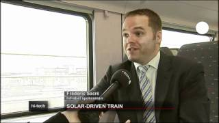 Belgium launches Europe's first solar train