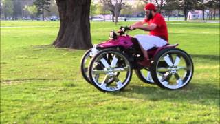 4-wheeler On 28s Doing Donuts