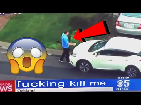 Man goes around vandalizing cars