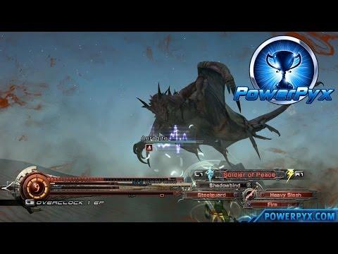 Aeronite Boss Fight (Desert Dragonslayer Trophy/Achievement) & Lightning Returns Final Fantasy XIII Walkthrough by powerpyx Game ...