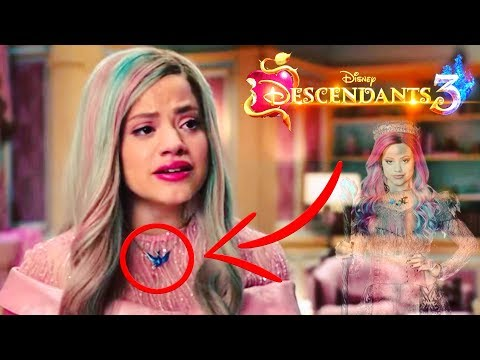 Descendants 3 QUEEN OF MEAN Top 6 Things YOU MISSED !! 🍎 ft. Sarah Jeffery as AUDREY 🍎