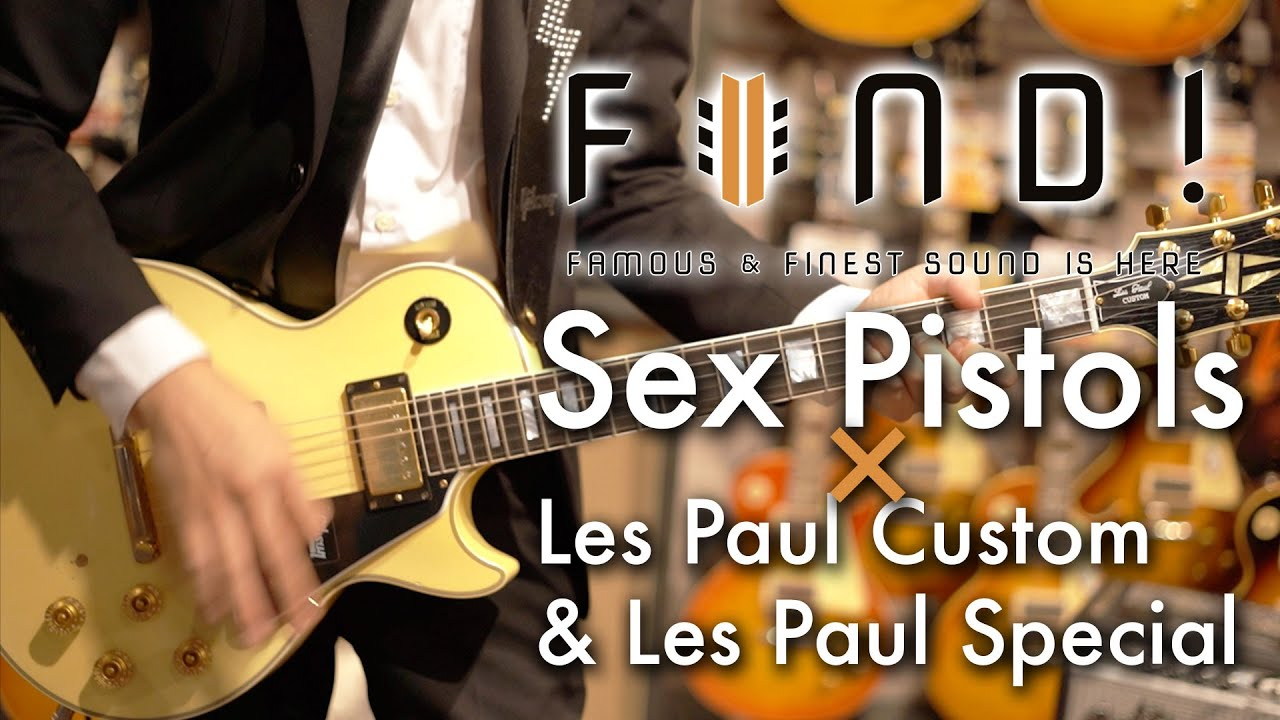 Sex Pistols × Les Paul Custom & Les Paul Special