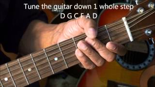 A Way To  Make Your 12 String Guitar Easier To Play Lesson @EricBlackmonGuitar