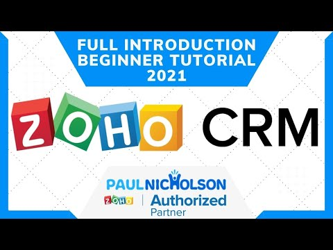 Zoho CRM Free Version 2021 Full Introduction, New User And ...