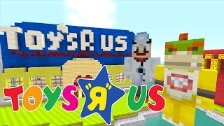 Minecraft Wii U - Nintendo Fun House - Bowser Jr's Crazy Toys