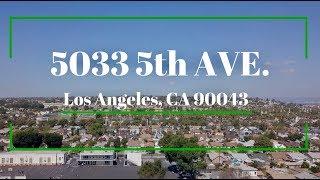 5033 5th Avenue, Los Angeles, 90043