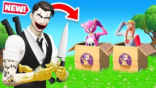BOX FIGHT Undercover MYSTERY in Fortnite