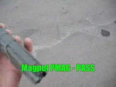 PMAG vs. Chevy Truck