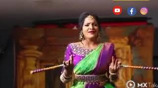 VJ Chithu's radhai manathil song.. cute 💃dance. miss u chithu