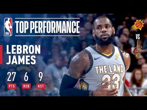 LeBron James Puts On A Performance Fit For A King