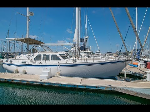 43′ Nauticat S&S 43 Sailboat Walkthrough [FOR SALE]