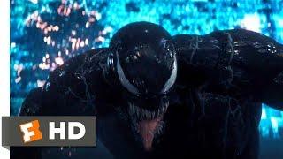 Venom (2018)   Getting Swatted Scene (510) | Movieclips