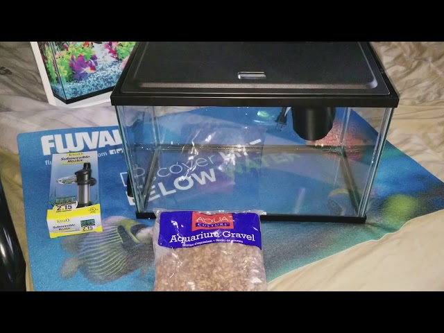 Complete betta setup from WalMart for less than $60