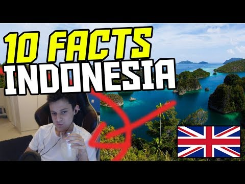 *SHOCKING* 10 AMAZING FACTS ABOUT INDONESIA (10 Indonesia Facts Reaction 2018)