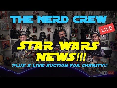 Red Letter Media: Nerd Crew Live!!! Star Wars News!!!