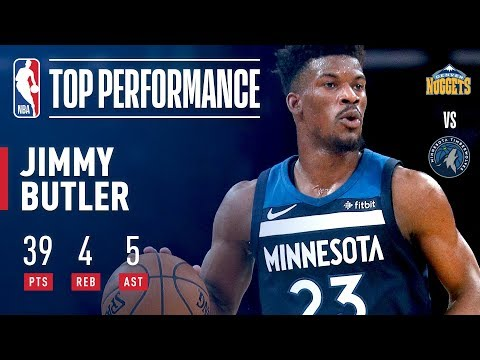 Jimmy Butler Scores 39 Pts, Propels T-Wolves in OT Win | December 27, 2017