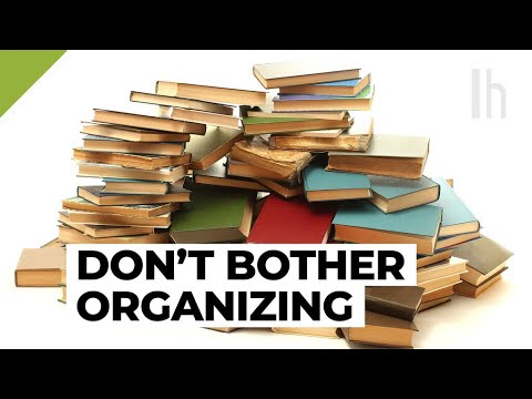 Don't Worry About Organising Your Books