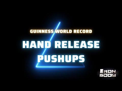 Ρεκόρ Γκίνες στα push ups από νεαρό Κρητικό