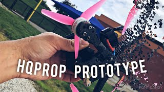 Prototype BLADES from HQProp! ???? 6S Flight ???? | FPV Freestyle фото