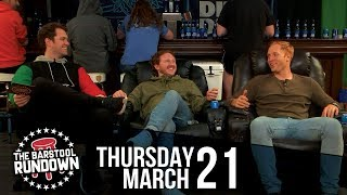 Is Tommy Smokes No Longer Good Luck? - March 21, 2019 - Barstool Rundown