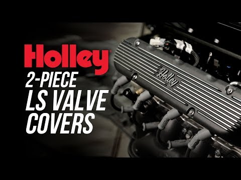 Holley 2-Piece LS Valve Covers