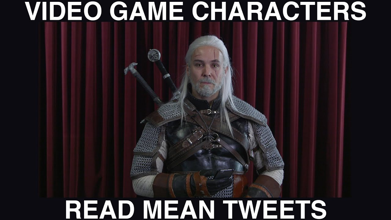 Video Game Characters Read Mean Tweets