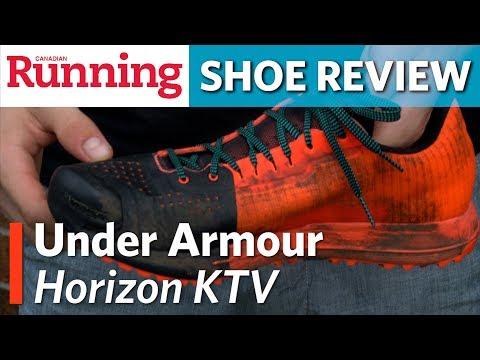 SHOE REVIEW: Under Armour Horizon KTV