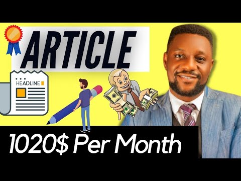 Make $1200 Writing Articles | Where to Sell Articles Online (Websites That Pay for Writing Articles)