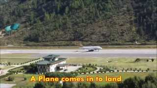 preview picture of video 'One of the World's Most Challenging Airports - Paro, Bhutan'