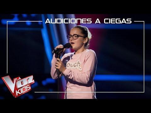 Paloma Puelles canta 'Lucía' | Audiciones a ciegas | La Voz Kids Antena 3 2019