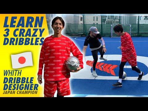 LEARN 3 FOOTBALL DRIBBLING SKILLS FROM DRIBBLE DESIGNER 🇯🇵// SEAN GARNIER FRIDAY TUTORIAL