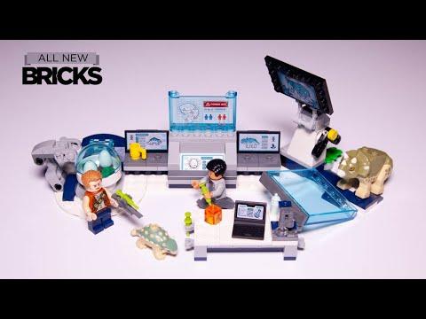 Vidéo LEGO Jurassic World 75939 : Le labo de Dr Wu : l'évasion des bébés dinosaures