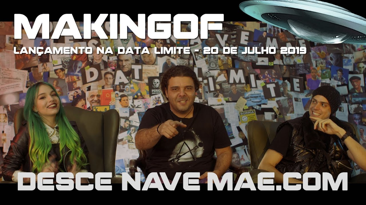 Making Of Desce Nave Mãe – Data Limite
