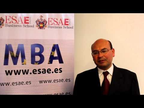 ESAE -Luis Miguel Maldonado, Master in Business Administration