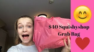 $40 Squishyshop Lucky Bag|Catherine Collects Squishies|