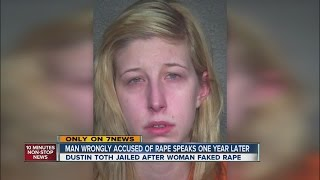Man wrongly accused of rape speaks out one year later