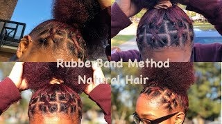 Elastic Band Method On Natural Hair Free Video Search Site