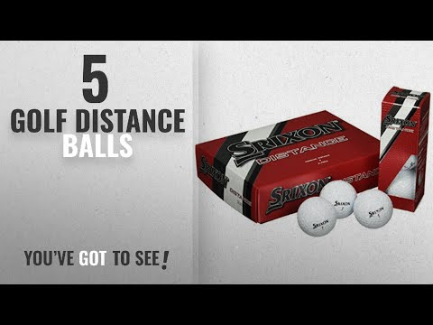 Top 10 Golf Distance Balls [2018]: Srixon Distance Golf Balls 4 Layers, Unisex Adult, White, M