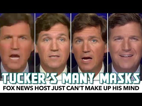 Tucker Carlson's Reporting On Masks Is All Over The Place