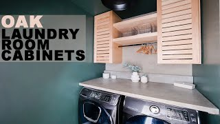 Laundry Room Storage Cabinets | How To Build
