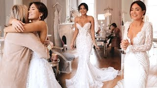 PIAS FIRST WEDDING DRESS FITTING TRY-ON