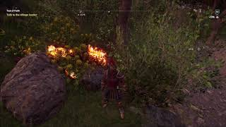 [Assassin's Creed Odyssey] Killing my Horse Phobos (Abraxas - Flaming/Fire Horse)