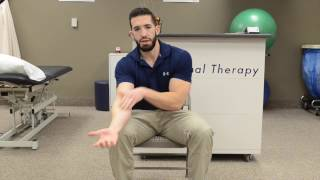 Simple exercise to stop tennis elbow and golfer's elbow