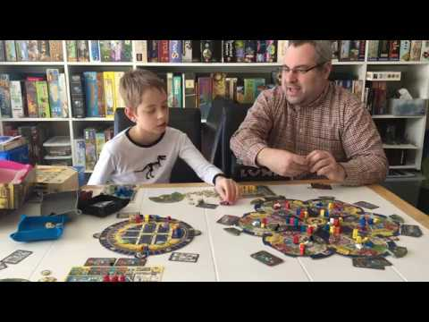 AquaSphere board game review!...with Justin and Max